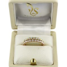 Memory rings Knokke in rose gold and yellow gold