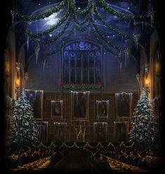 Hogwarts Great Hall | Harry Potter | Pottermore illustration