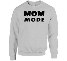 Mom Mode Mother Children Kids Funny Fan Crewneck Sweatshirt Mike Tyson Boxing, Mother And Child, Hoodies, Sweatshirts, Funny Kids, Cool T Shirts, Funny Tshirts, Crew Neck Sweatshirt, Fan
