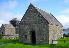 Iona Chapel, Isle of Iona, Scotland Kings of Scotland buried there we were told.  Macbeth might be In there somewhere.
