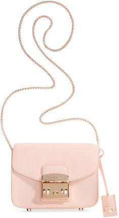 3e272afe54a9 Furla - Pink Metropolis Mini Leather Cross-Body Bag - Lyst