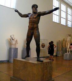 Poseidón de Cabo Artemision 460 a.C.   por Hesperetusa
