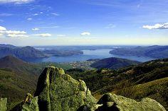 Verbania e il Lago Maggiore visti dal Parco Val Grande