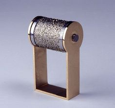 Sigurd Bronger. Ring: Diamond, 2009. Real diamond grain on steel, 18ct gold