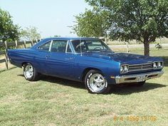1969 Plymouth Road Runner 383 / 4-speed.