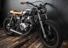 I'd throw a scrambler exhaust on here and go places. Honda CB Street Tracker by Ed Turner Motorcycles Cb350 Cafe Racer, Honda Scrambler, Motos Honda, Cafe Racer Bikes, Scrambler Motorcycle, Honda Motorcycles, Custom Motorcycles, Custom Bikes, Yamaha