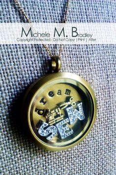Origami Owl SEW LOCKET--for that special seamstress in your life....