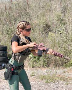 Female Soldier, N Girls, Wild West, Guns, Lifestyle, Firearms, Pew Pew, Outdoor, Drills