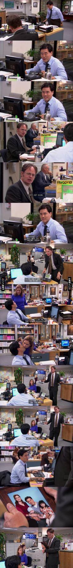 One of Jim's best pranks #theoffice