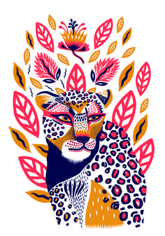 Margaux carpentier illustration of animals petit monkey poster wild animals 50 x 70 cm illustration art design wildlife tropical elephant tiger cheetah toucan Illustration Inspiration, Illustration Design Graphique, Art Et Illustration, Art Graphique, Character Illustration, Art Inspo, Inspiration Art, Silkscreen, Illustrations And Posters