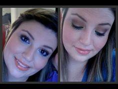 makeup tutorial: beachy smokey eye w/ ELF minerals Makeup Videos, Makeup Tips, Mineral Eyeshadow, Make Me Up, Smokey Eye, Girl Stuff, Girly Girl, Hair And Nails, Nail Colors
