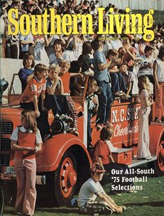 September 1975   Our All-South '75 Football Selections <3 Go pack!