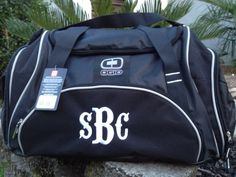 Groomsmens OGIO Crunch Duffel monogrammed personalized great group gifts set  of 9 960ac9133b5a9