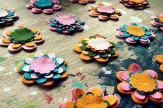 Felt Flower Bouquet Kit by FeltFlowerBouquets on Etsy