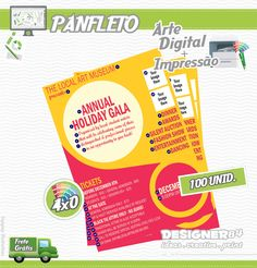 Arte+Impressão - Panfleto 3