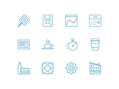 New Square Icons