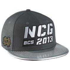Notre Dame Fighting Irish Nike New Snapback hat 2013 National Championship Game