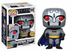 Funko Pop DC Batman The Animated Series Batman (Robot) (CHASE)