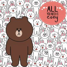 Brown and Cony