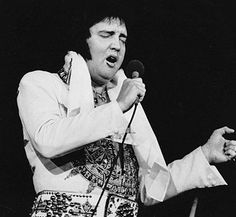 Elvis Presley  Almost two months before the King of Rock 'n' Roll  died, Presley performed in front of 17,000 fans on June 26, 1977, for what would be his final concert