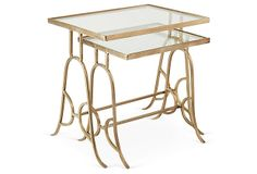 Sally Nesting Tables, Set of 2 on OneKingsLane.com