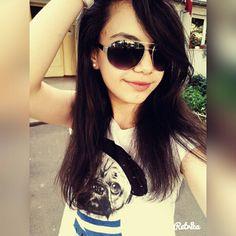 #sunglasses #sun #streighthair