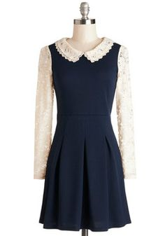 Bandstand a Chance Dress, #ModCloth -- great Fall dress, could do SO much with this one!