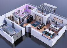 Maison - Maison Bois - 3 Chambres plus suite parentale - Maisons Stéphane Berger - 165000 euros - 130 m2 | Faire construire sa maison