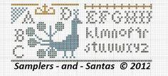 Samplers and Santas: Needle Keep freebie