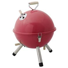 Giantex Mini BBQ Stove Barbecue Oven Charcoal Grill Picnic Cookware Outdoor Camping (Red) ** Click image to review more details.