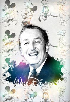 Walt Disney: Pop Art by hrtlsangel ...