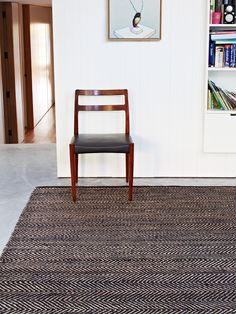 Echoes of Africa reverberate in this herringbone pattern, creating a dynamic design that adds a mature accent to any space.
