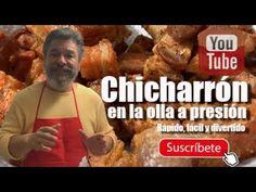 COMO HACER CHICHARRÓN EN OLLA A PRESIÓN, RAPIDO Y FACIL..!!! - YouTube