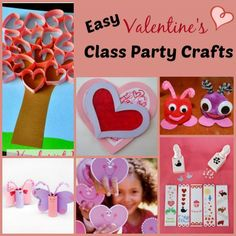 Easy Valentine's Class Party Crafts | Princess Pinky Girl