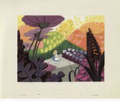 illustrations of alice in wonderland Mary blair - Google Search