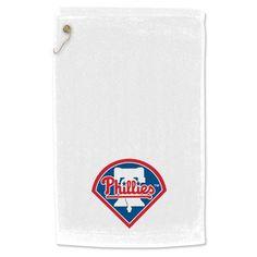 WinCraft Philadelphia Phillies 15 x 25 Towel with Grommet - White