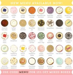 Our new cupcake menu is here! | Crumbs & Doilies News