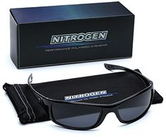 722afc4e7 Small Polarized Sport Fishing Driving Running Sunglasses - Black & Gray  Running Sunglasses, Sunglasses 2017