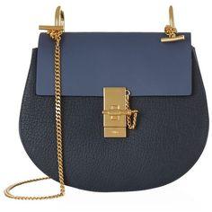 Chloé Small Drew Bicolour Shoulder Bag ( 1 9e7e328334