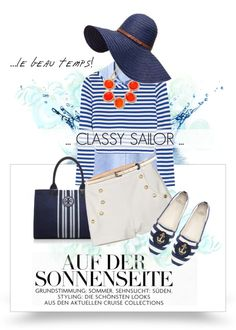 """How To: Style Ideas for Summer 2013 - Classy Sailor"" by pocaqooka ❤ liked on Polyvore"