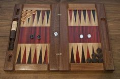 Wooden Backgammon Boards