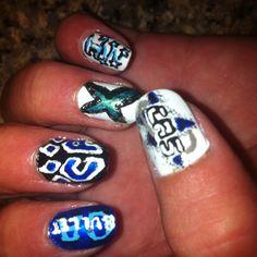 All-Star Cheer Nails