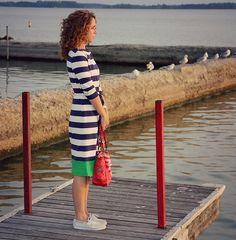 Две идеи удлинения платья и плаща (Diy)