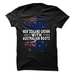 New Zealand Grown With Australian Roots  - #sweatshirt menswear #cat sweatshirt. PURCHASE NOW => https://www.sunfrog.com/Faith/New-Zealand-Grown-With-Australian-Roots-.html?68278