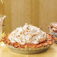 Sweet Potato Pie with Marshmallow Meringue | MyRecipes.com