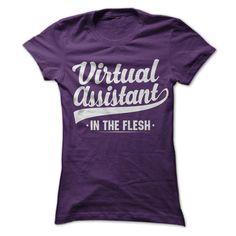 (Top Tshirt Popular) Virtual Assistant In The Flesh [Tshirt design] Hoodies Tee Shirts