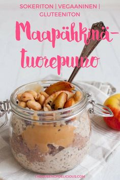 Prepare your oats in the evening and put them in the fridge overnight. Peanut butter overnight oats are a protein packed delicious breakfast. Oats Recipes, Gf Recipes, Make Ahead Breakfast, Breakfast Recipes, Breakfast Options, Peanut Butter Overnight Oats, Gluten Free Vegetarian Recipes, Gluten Free Peanut Butter, Gluten Free Breakfasts