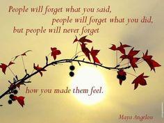 Make someone feel wonderful today!