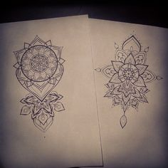 mandala thigh tattoos for females - Google Search