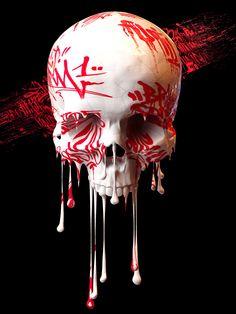 Morbid attraction by UK Contemporary Artist Billelis https://instagram.com/billelis/